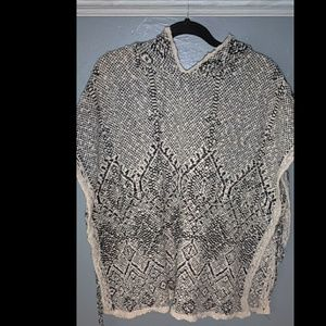 Hollister Sweater Poncho